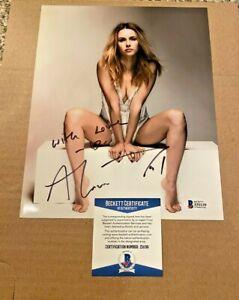 ALONA TAL SIGNED SUPER SEXY 8X10 PHOTO BECKETT #2