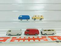 BO570-0,5# 5x Wiking H0/1:87 Transporter VW/Volkswagen T3, NEUW