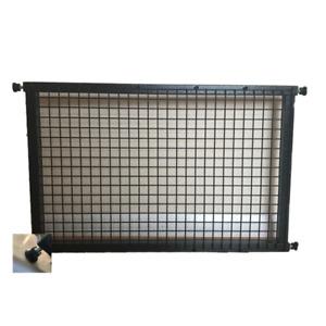 A Plain Panel Adjustable Pet Door Guard Pet Gate