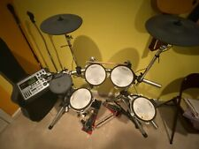 Roland V-Drum Stage set, Hydraulic Throne, Double Delta Turbo Iii Bundle
