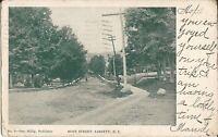 Liberty, New York - Main Street - 1907 - Sullivan County, Catskills