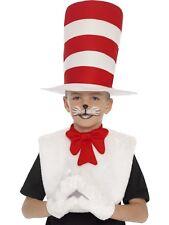 Bambini Con licenza ufficiale Gatto nel Cappello Cappello Costume Set