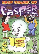 CASPER And Friends THE FRIENDLY GHOST Kids Children Family DVD Stocking Stuffer