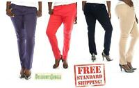 JC JEANS Womens Plus Size Cotton Twill Pants Stretch High Waist Skinny PANTS