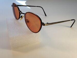Bausch & Lomb W1551 Eyeglasses Eyewear FRAMES 49-25-140 Gold/Black