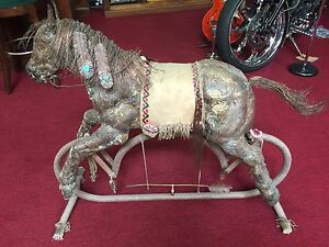 Rocking Horse One-Of-A-Kind handmade from Brass Copper Metal