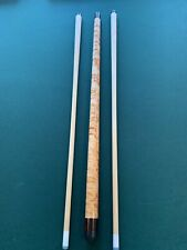 New listing SCHULER CUE WITH TWO SHAFTS & 2x4 CASE.