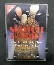 Scotch & Soda  -  ein klassischer Münztrick, deutsche u. engl. Anleitung