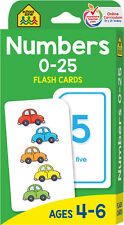 Flash Cards Numbers Recognition Counting Add Subtract Skills Kids Learning 0-25