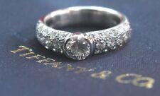 Tiffany & Co Platinum Etoile Diamond Engagement Ring 1.18CT H-VS1
