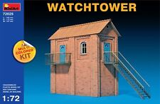 MiniArt 1/72 72025 Watchtower (Multi Colored Kit, WWII Military Diorama)