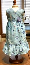 Authentic American Girl Doll Kanani Meet Dress Hawaiian Outfit Clothes GOTY 2011