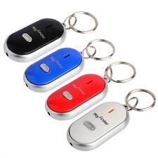 Flashing Anti-Lost Find Lost Key Finder Keychain Whistle Sound Keyring