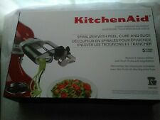 New Kitchen Aid. Stand mixer attachment spiralizer. (5 blades)
