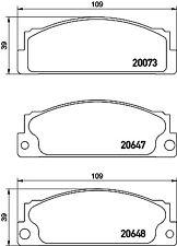 Mintex Anteriore Set Pastiglie dei Freni MDB1203-Vera Nuovo di zecca - - 5 anni di garanzia
