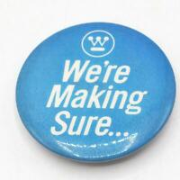 Vintage Westinghouse Corporation Pin Pinback Button Badge