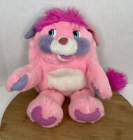 Popples Party Popple Ball Stuffed Pocket Pouch Creature Vintage 80s Pink Purple