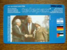 O 164 02.94 MINT Duitsland  -  TELEPAX / Rabin, Clinton en Arafat   opl 5000