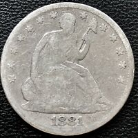 1881 Seated Liberty Half Dollar 50c Philadelphia Business Strike RARE #15270