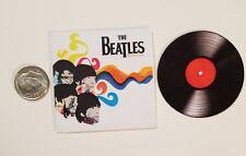 Miniature record albums Barbie Gi Joe 1/6  Figure  Playscale Beatles Revolver