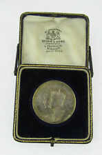 1911 Windsor Coronation Silver Medal, Original Box, Elkington, B'ham 1911