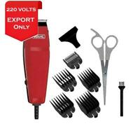 Wahl 9314-2758 Easy Cut 10-Pieces Haircutting Kit Clipper 220 Volts Export Only