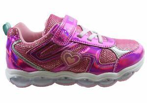 Bolt Suki Toddler Junior & Older Kids Girls Light Up Shoes - KidsShoes