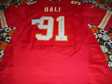 TAMBA HALI CHIEFS SIGNED NFL FOOTBALL JERSEY AUTOGRAPHED WITH COA
