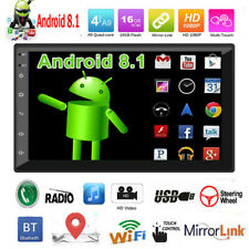 """7"""" Double 2 DIN Android 8.1 Car Stereo GPS Navi WiFi BT AUX FM In-dash Head Unit"""