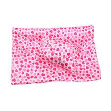 2 Sets Handmade Sleeping Bag Pink Love for 18inch AG American Doll Doll Decor