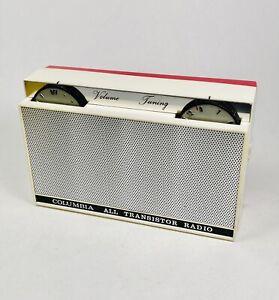 Rare COLUMBIA Vintage Transistor Radio Japan All Original - WORKS!