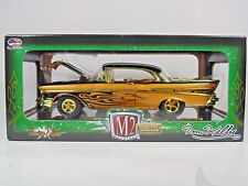 M2 MACHINES CHASE 1:24 1957 CHEVROLET TOM KELLY BEL AIR HARDTOP R51 LIMITED ED.