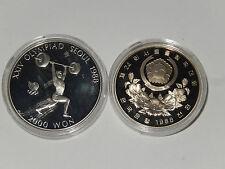 Won 2000 1988 sur-corea halterofilia c/n pp seúl 1988