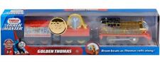 Thomas & Friends GOLDEN THOMAS Trackmaster Battery Operated Motorized NEW