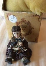 Boyds Yesterday Child Dollstone Collect Patricia With Molly 3501 Attic Treasures
