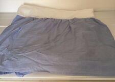 Blue Cotton Twin Bedskirt Bed Skirt 20485
