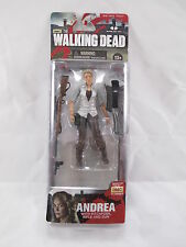 "AMC THE WALKING DEAD 2013 SERIES 4 W1 FIGURE ""ANDREA"" McFARLANE TOYS AGES 13+!"