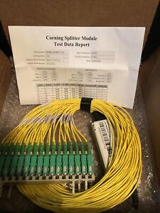 Corning Splitter Tool Test  1x32  NEW!!!WMB4CC6CA6C11132SCAPC Module-LS