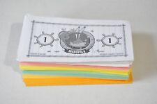 Spongebob Squarepants edition Monopoly replacement game pieces - money
