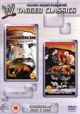 WWF Summerslam 1998 & 1999 Orig 2 DVDs WWE Wrestling