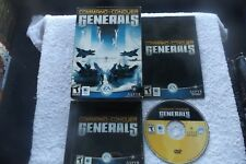 COMMAND & CONQUER GENERALS APPLE MAC BOXED V.G.C. FAST POST ( RTS strategy game