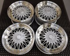 "17"" Stuttgart Tsr Alloy Wheels Vw Polo Bmw E30 Ford Fiesta Focus Mini Cooper"