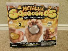 Brand new in box Horizon Group Usa Metallic Squoosh-o's Diy stress balls kit