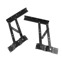 Pair Lift Up Top Coffee Table Hardware Fitting Furniture Mechanism Hinges Spring