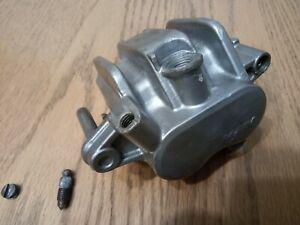 honda ntv600 revere left brake caliper body and slider pad pin NTV  89