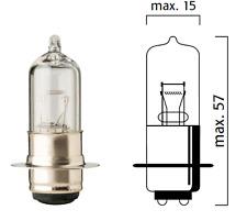 AMPOULE FLOSSER 12V 35/36,5W P15D-25-1 MOTO PHARE AVANT FEU PROJECTEUR LAMPE