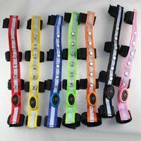 LED Horse Riding Head Harness Saddle Halters Colorful Light Equestrian Equipment