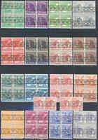 GERMANY  LOT OF FOUR SETS SC#600/16,614a  MICHEL #36I/51 I 49 I   MINT NH