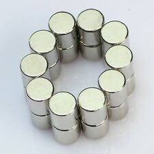 Set Of 25 Pieces of 5mm x 5mm Cylinder Strong Rare Earth Neodymium Magnets N52