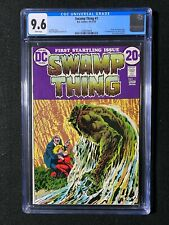 Swamp Thing #1 CGC 9.6 (1972) - Origin of Swamp Thing - WHITE pages